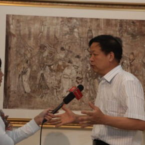 26 Opening of Paying Special Regard to Domestic Treasure Photography Exhibition of Shanxi Ancient Murals by Wu Pu ao 290x290 - Paying Special Regard to Domestic Treasure: Photography Exhibition of Shanxi Ancient Murals by Wu Pu-ao Grandly Inaugurated at CAFA Art Museum