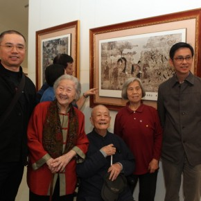 27 Opening of Paying Special Regard to Domestic Treasure Photography Exhibition of Shanxi Ancient Murals by Wu Pu ao 290x290 - Paying Special Regard to Domestic Treasure: Photography Exhibition of Shanxi Ancient Murals by Wu Pu-ao Grandly Inaugurated at CAFA Art Museum