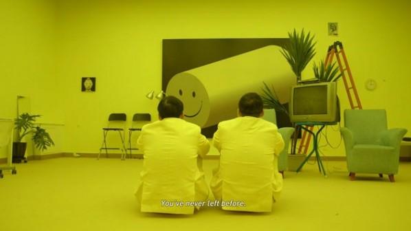 33 I'm not not not Chen Zhou(film still), 2013; HD digital film, Color, sound, 35mins