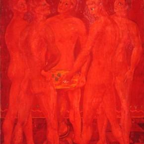 "Aligi Sassu ""Dice Men"" tempera on canvas 43 x 32.5 cm 1931 290x290 - The Heart of Innocence – A Centennial Retrospective of Aligi Sassu Inaugurated at the CAFA Art Museum"