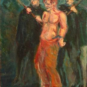 "Aligi Sassu ""Execution in Asturias"" oil on canvas 64 x 47 cm 1935 290x290 - The Heart of Innocence – A Centennial Retrospective of Aligi Sassu Inaugurated at the CAFA Art Museum"