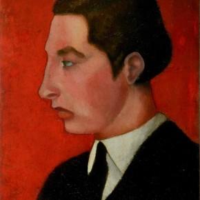 "Aligi Sassu ""Portrait of Vanoni"" oil on board 43.5 x 33 cm 1929 290x290 - The Heart of Innocence – A Centennial Retrospective of Aligi Sassu Inaugurated at the CAFA Art Museum"
