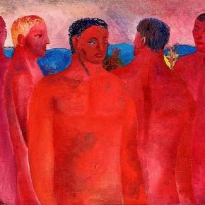 "Aligi Sassu ""Red Men"" oil on canvas 58 x 74 cm 1931 290x290 - The Heart of Innocence – A Centennial Retrospective of Aligi Sassu Inaugurated at the CAFA Art Museum"