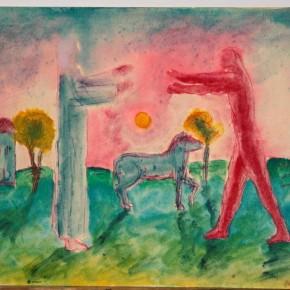 "Aligi Sassu ""Return of the Prodigal Son"" watercolor on paper 16 x 19.5 cm 1930 290x290 - The Heart of Innocence – A Centennial Retrospective of Aligi Sassu Inaugurated at the CAFA Art Museum"