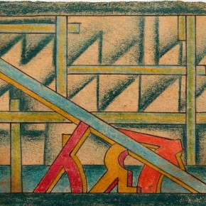 "Aligi Sassu ""Workers"" inked color on paper pencil 9.5 x12.3cm 1927 290x290 - The Heart of Innocence – A Centennial Retrospective of Aligi Sassu Inaugurated at the CAFA Art Museum"