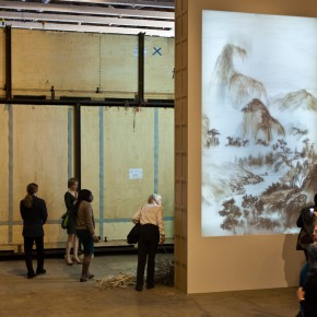 Installation View of Background Stories by Xu Bing at MASS MoCA 01 290x290 - Xu Bing: Phoenix, Featuring Monumental Sculpture, on View at MASS MoCA