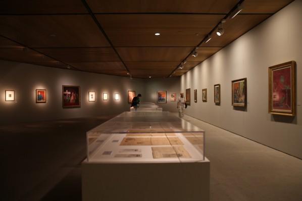 Installation View of THE HEART OF INNOCENCE - A Centennial Retrospective of Aligi Sassu 06