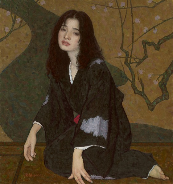 Jin Shangyi, Drunkenness, 2001, 80x75cm