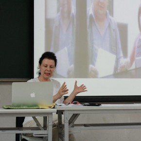 Lydia Haustein Professor of Humboldt University in Berlin 01 290x290 - Art History: Going Towards a New Global Dialogue/Discussion Series I: Basic Theory - Boundary and Future