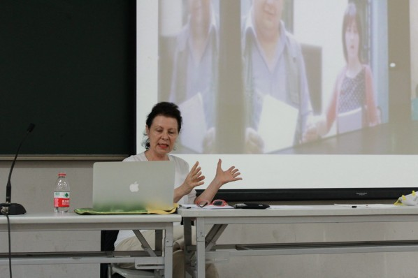 Lydia Haustein, Professor of Humboldt University in Berlin 01
