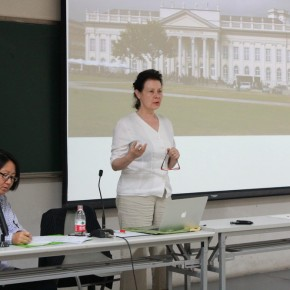 Lydia Haustein Professor of Humboldt University in Berlin 03 290x290 - Art History: Going Towards a New Global Dialogue/Discussion Series I: Basic Theory - Boundary and Future