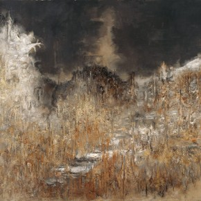 "Su Xinping ""Landscape Series II No.20"" 2009 oil on canvas 200 x 300 cm 290x290 - Pending – Su Xinping's Solo Exhibition to be inaugurated at the Art Museum of Nanjing University of Fine Arts"