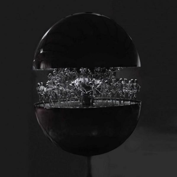 Xu Zhongmin, Egg Shape I, 2006; installation, 150x150x280cm