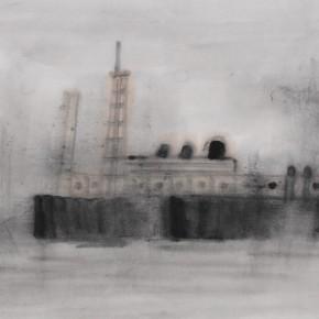 "Zhu Yamei, ""Boat Series"", 69 x 34 cm, 2011"