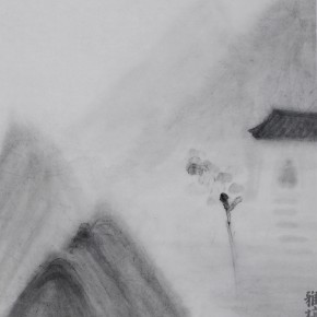 "Zhu Yamei ""How Good the Place is"" 40 x 50 cm ink and wash on paper 2012  290x290 - Zhu Yamei"