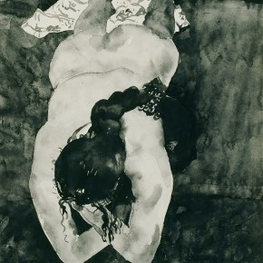 "02 Liu Liping, ""Nude of Ink and Wash"""
