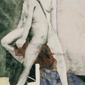 "03 Liu Liping, ""Nude of Ink and Wash"""