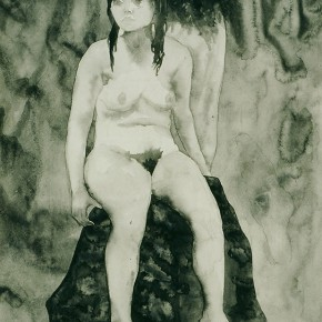 "04 Liu Liping, ""Nude of Ink and Wash"""
