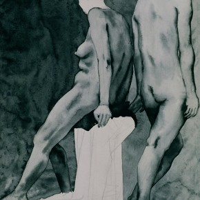 "05 Liu Liping, ""Nude of Ink and Wash"""