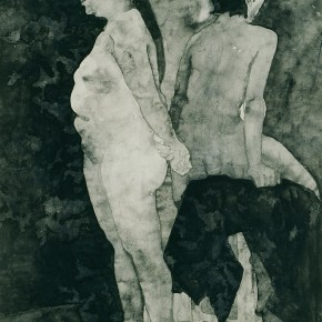 "06 Liu Liping, ""Nude of Ink and Wash"""