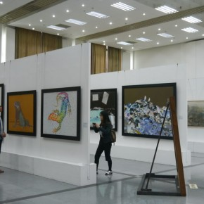 34 Installation View of The Graduation Exhibitions of the Departments of Printmaking and Mural