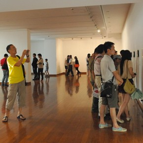 Installation View of the exhibition 290x290 - Crossroads · Another Dimension: A Cross-Strait Four-Regions Artistic Exchange Project 2013