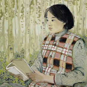 Pang Xunqin Reading 1981 Oil on Canvas 68cm×62cm Collection Pang Xunqin Museum of Art 290x290 - The Song of Jue Lan: A Retrospective Exhibition of Pang Xunqin's Work opens at Zhejiang Art Museum
