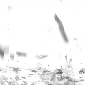 "Wang Huangsheng, ""Halo"", video (screenshot), 4'' 24'', 2013 02"