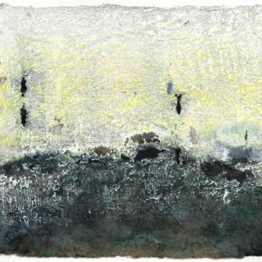 """Zhou-Jirong-""""No.1""""-pulp-and-mixed-media-49-x-130-cm-2011"""