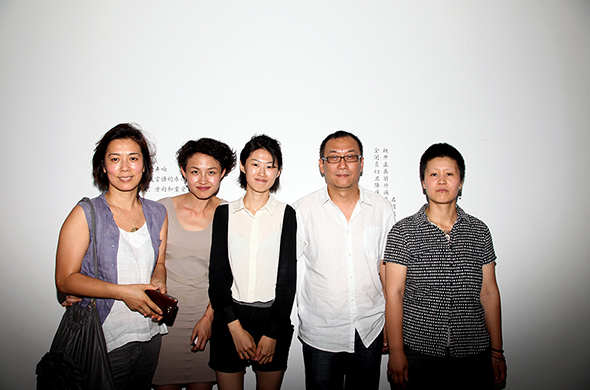 01 Group photo of Jiang Jie, Na Buqi, Liu Fujie, Zhan Wang and Fan Xi