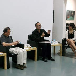 "02 Press Conference of ""Chu Dialect in Wu Door Artistic Language of Hubei District Appears in Suzhou Exhibition of Shang Yang"" 290x290 - Press Conference of ""Chu Dialect in Wu Door - Exhibition of Shang Yang""at the Hive Center for Contemporary Art"