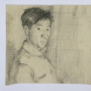 """07 Wei Qimei """"Self Portrait"""" 21.5 x 20 cm 1940s 290x290 - """"Wei Qimei and Basic Teaching"""" Exhibition About to Held at CAFA Art Museum"""