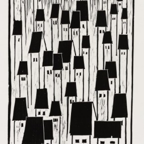 08 Ma Desheng Untitled 8 1980 Woodblock print on Chinese paper46.4X34.4cm 290x290 - Ma Desheng: Selected Works 1978-2013 at the London Gallery of Rossi & Rossi