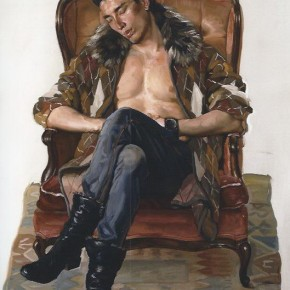 "09 Mao Yan ""Fashion Guy from Qingdao City"" oil on canvas 138 x 92 cm 2010 290x290 - Face 2 Face Portraits and Interiors Chinese – Dutch Painting Exhibition opened at the He Xiangning Art Museum"