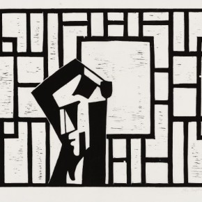 10 Ma Desheng Untitled 10 1981 Woodblock print on Chinese paper34.4X52cm 290x290 - Ma Desheng: Selected Works 1978-2013 at the London Gallery of Rossi & Rossi