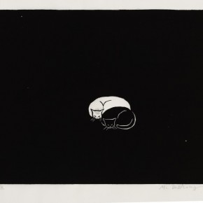 11 Ma Desheng Untitled 11 1980 Woodblock print on Chinese paper25.9X35.1cm 290x290 - Ma Desheng: Selected Works 1978-2013 at the London Gallery of Rossi & Rossi