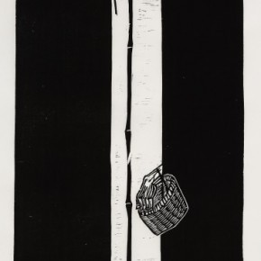 12 Ma Desheng Untitled 12 1980 Woodblock print on Chinese paper45.4X27cm 290x290 - Ma Desheng: Selected Works 1978-2013 at the London Gallery of Rossi & Rossi