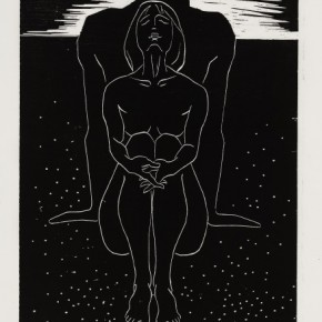 13 Ma Desheng Untitled 13 1979 Woodblock print on Chinese paper37X30.1cm 290x290 - Ma Desheng: Selected Works 1978-2013 at the London Gallery of Rossi & Rossi