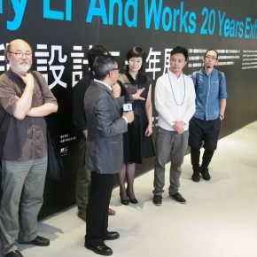 13 View of opening ceremony 290x290 - Visual Dialogue – Tommy Li and Exhibition of Works over 20 Years in Beijing