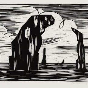 15 Ma Desheng Untitled 15 1980 Woodblock print on Chinese paper24.1X35cm 290x290 - Ma Desheng: Selected Works 1978-2013 at the London Gallery of Rossi & Rossi