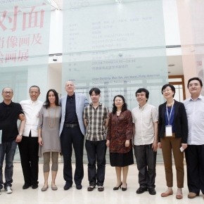 15 Photo of guests of the opening ceremony 290x290 - Dialogue: Art and Imitation – Chen Danqing, Mao Yan, Cees Hendrikse and Feng Boyi Talked at the He Xiangning Art Museum