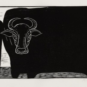 16 Ma Desheng Untitled 16 1980 Woodblock print on Chinese paper19.2X40.3cm 290x290 - Ma Desheng: Selected Works 1978-2013 at the London Gallery of Rossi & Rossi