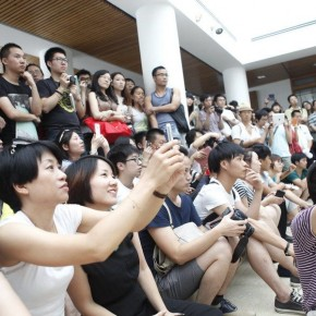 16 View of the opening ceremony 290x290 - Dialogue: Art and Imitation – Chen Danqing, Mao Yan, Cees Hendrikse and Feng Boyi Talked at the He Xiangning Art Museum