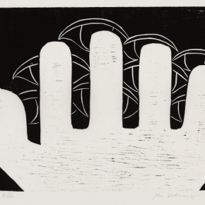 17 Ma Desheng Untitled 17 1981 Woodblock print on Chinese paper24.4X31.8cm 290x290 - Ma Desheng: Selected Works 1978-2013 at the London Gallery of Rossi & Rossi