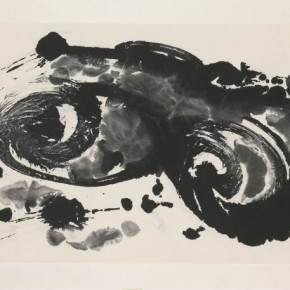 21 Ma Desheng Abstract 1 1987 Ink on Chinese paper69x102cm 290x290 - Ma Desheng: Selected Works 1978-2013 at the London Gallery of Rossi & Rossi