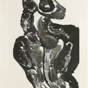 27 Ma Desheng Ink Nude 3 1987 Ink on Chinese paper130x68.5cm 290x290 - Ma Desheng: Selected Works 1978-2013 at the London Gallery of Rossi & Rossi