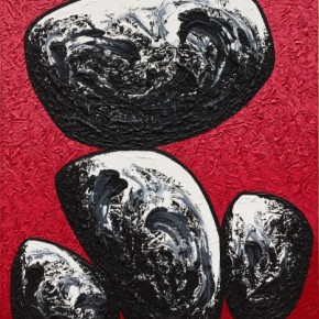 34 Ma Desheng Rocks 2 2011 Acrylic on canvas 162x130cm 290x290 - Ma Desheng: Selected Works 1978-2013 at the London Gallery of Rossi & Rossi