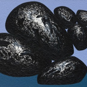 38 Ma Desheng Rocks 6 2010 Acrylic on canvas 150X200cm 290x290 - Ma Desheng: Selected Works 1978-2013 at the London Gallery of Rossi & Rossi