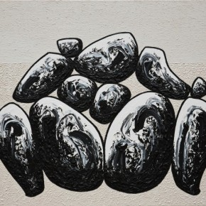 42 Ma Desheng Rocks 10 2012 Acrylic on canvas 150X200cm 290x290 - Ma Desheng: Selected Works 1978-2013 at the London Gallery of Rossi & Rossi