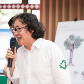"""July 8 2013 Xu Bing conveyed the core concept of Forest Project to the participants 290x290 - Xu Bing's """"Forest Project: Taiwan"""" the recently initiated public welfare Art Project"""